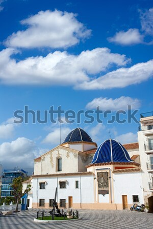 Benidorm San Jaime church Alicante in balcon mediterraneo Stock photo © lunamarina