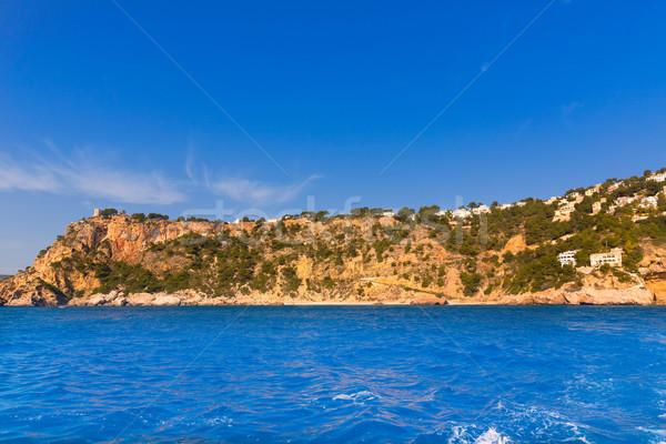 Javea playa Ambolo caleta Figuera Xabia in Alicante Stock photo © lunamarina