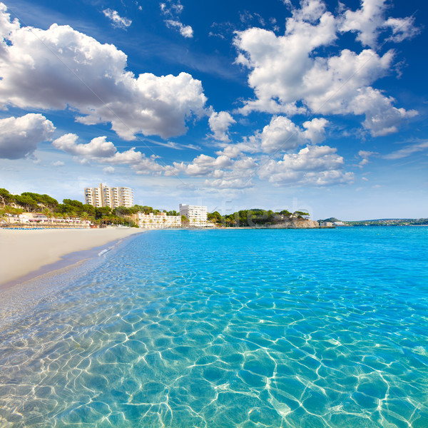 Majorca Playa de Palmira beach Calvia in Mallorca Stock photo © lunamarina