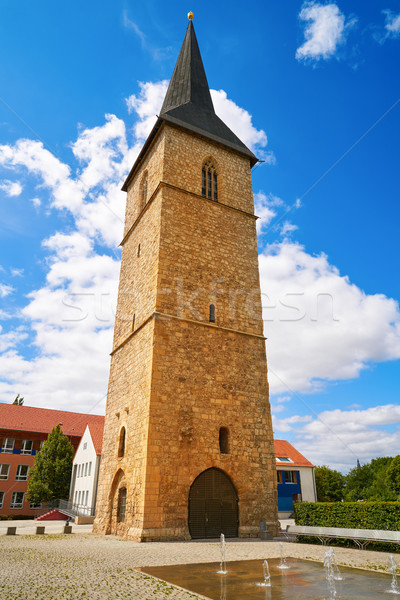 Stock photo: St Petri Kirche tower Nordhausen Harz Germany