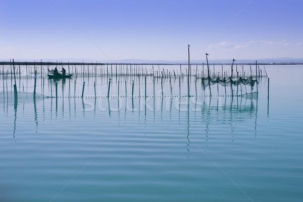 Albufera Valencia lake wetlands mediterranean Stock photo © lunamarina