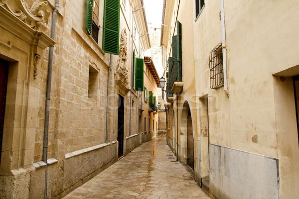 Barrio Calatrava Los Patios in Majorca at Palma Stock photo © lunamarina