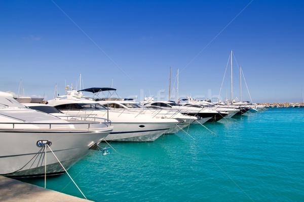 Luxo mallorca ilha água mar verão Foto stock © lunamarina