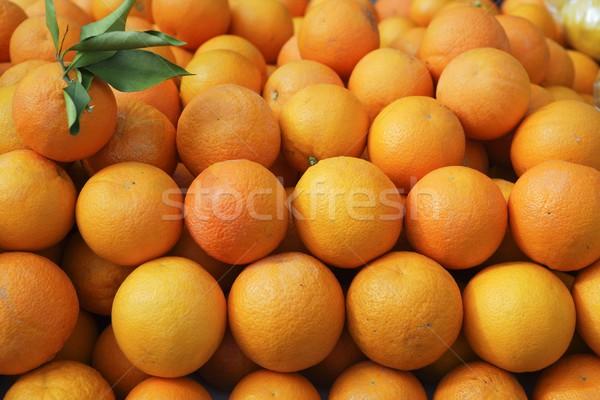 Valencia sinaasappelen markt middellandse zee Spanje Stockfoto © lunamarina