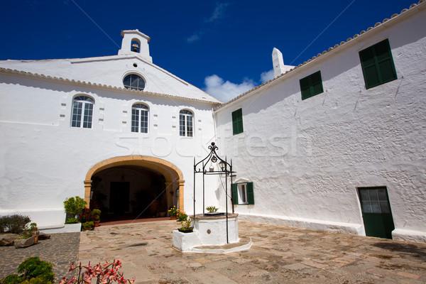 Menorca Sanctuary Mare de Deu del Toro Stock photo © lunamarina