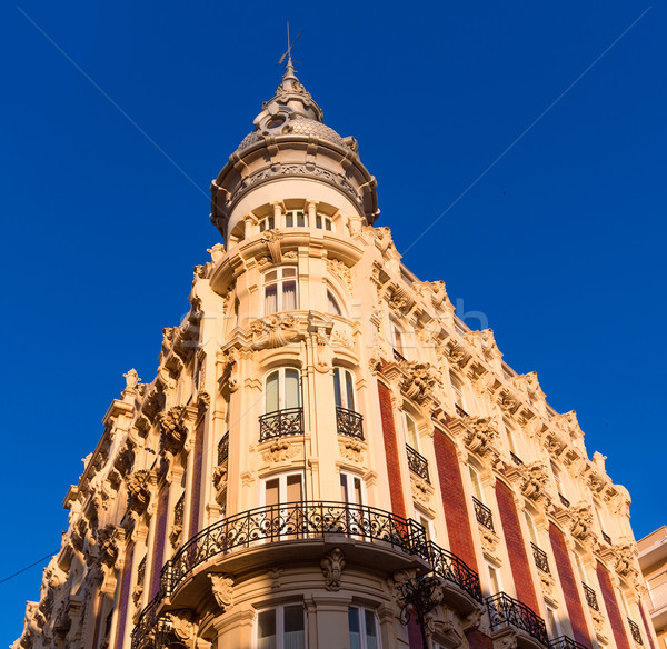 Cartagena Gran Hotel Art Noveau Murcia Spain Stock photo © lunamarina