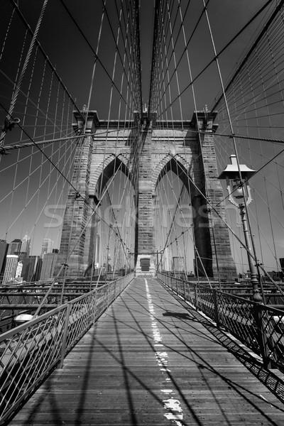 Pont Manhattan New York City bureau bâtiment urbaine Photo stock © lunamarina