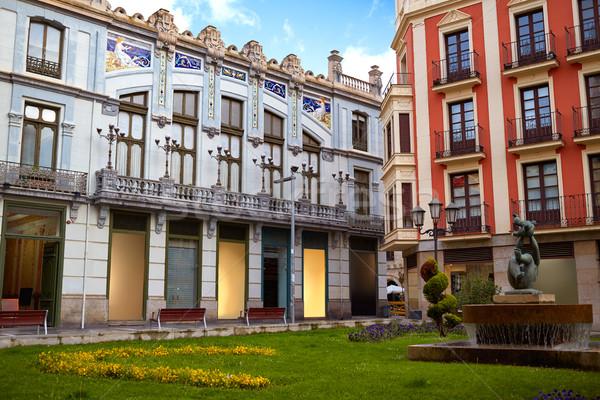 Zamora Santa clara street modernism in Spain Stock photo © lunamarina