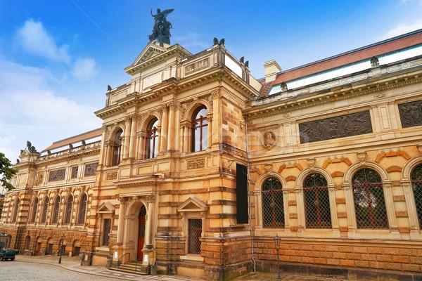 Albertinum museum in Dresden Germany Stock photo © lunamarina