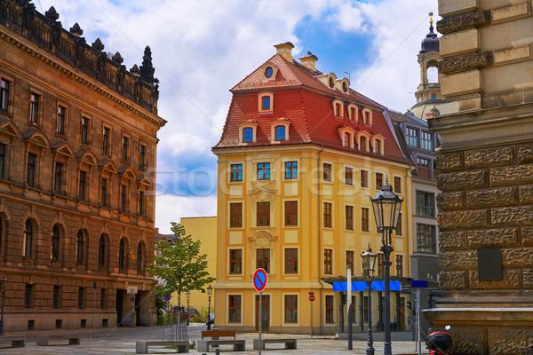 Дрезден Германия небе здании лет синий Сток-фото © lunamarina