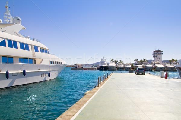 Luxus Mallorca sziget víz tenger nyár Stock fotó © lunamarina