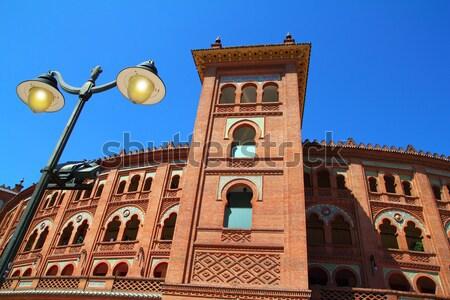 Stock fotó: Madrid · utazás · gyűrű · Európa · bika · kultúra