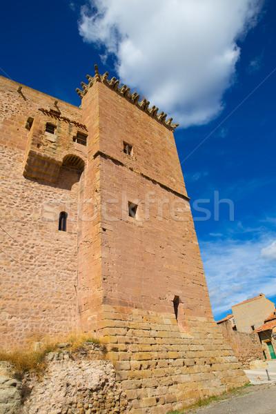 Musulmanes castillo España azul soleado cielo Foto stock © lunamarina