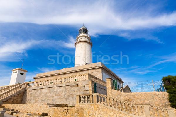 Majorca Formentor Cape Lighthouse in Mallorca Stock photo © lunamarina