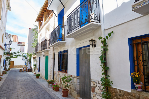 деревне улице Валенсия Испания природы пейзаж Сток-фото © lunamarina
