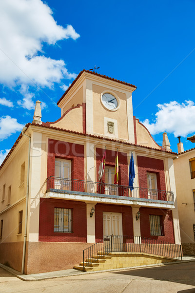 City town hall in Talayuelas Cuenca of Spain Stock photo © lunamarina