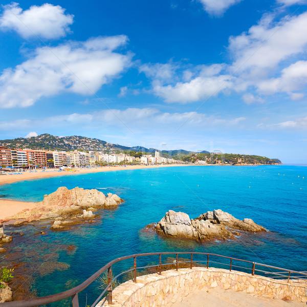 Costa Brava cami de Ronda Lloret de Mar Stock photo © lunamarina