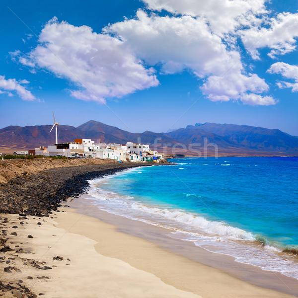 Punta Jandia Fuerteventura and Puerto de la Cruz  Stock photo © lunamarina