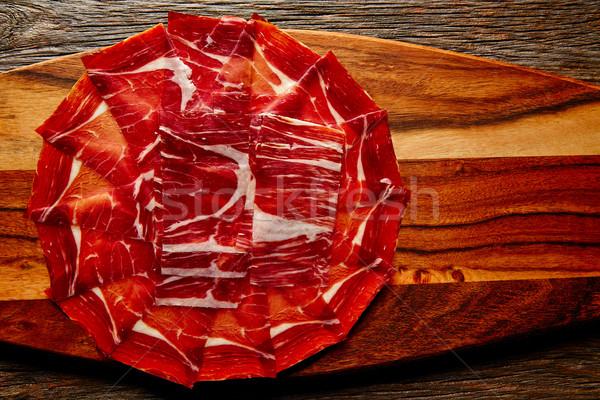 Jamon iberico han from Andalusian Spain Stock photo © lunamarina