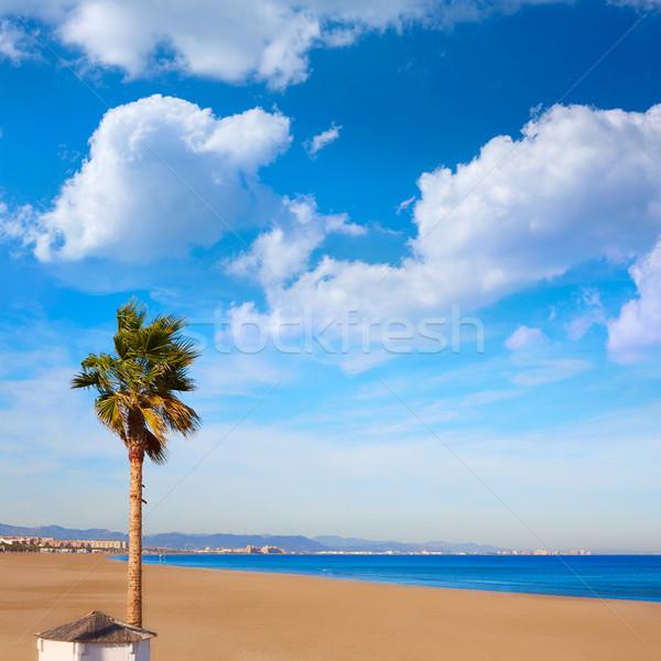 Stock fotó: Valencia · tengerpart · Spanyolország · mediterrán · tenger · víz