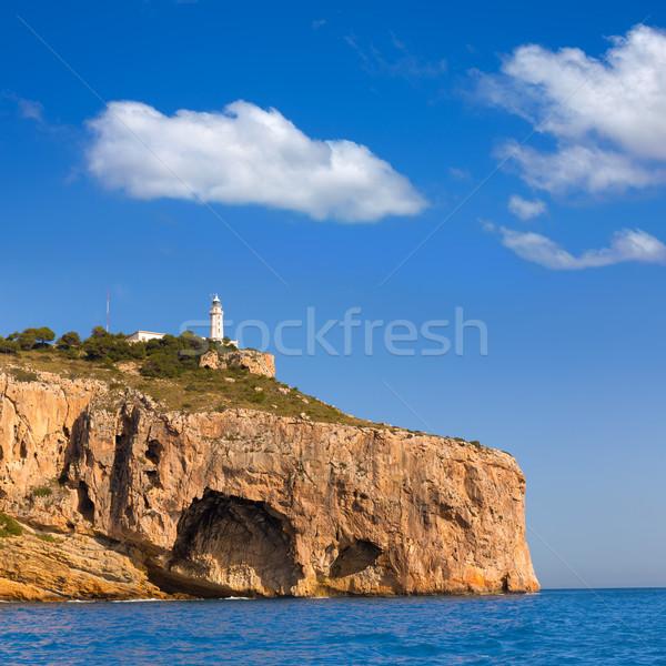Javea Cabo la Nao Lighthouse Mediterranean Spain Stock photo © lunamarina