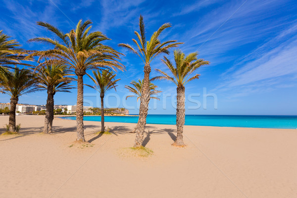 Javea Xabia playa del Arenal in Mediterranean Spain Stock photo © lunamarina
