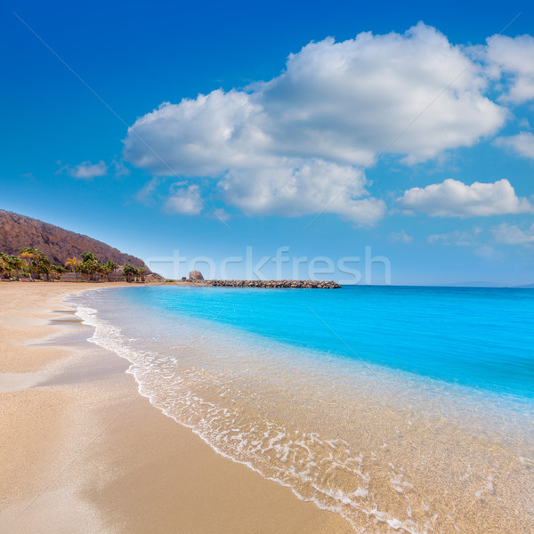 Aguilas Poniente beach Murcia in Spain Stock photo © lunamarina