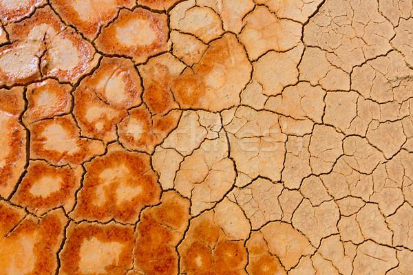 Foto stock: Velho · mina · Espanha · ácido · secar · lago