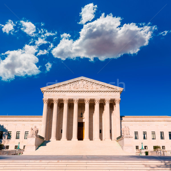 Supreme Court United states building Washington Stock photo © lunamarina
