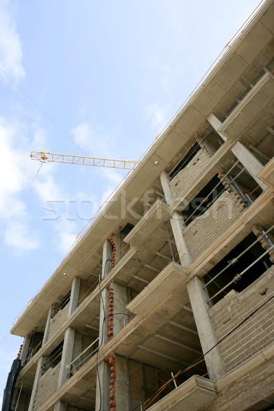 concrete building structure construction in europe Stock photo © lunamarina