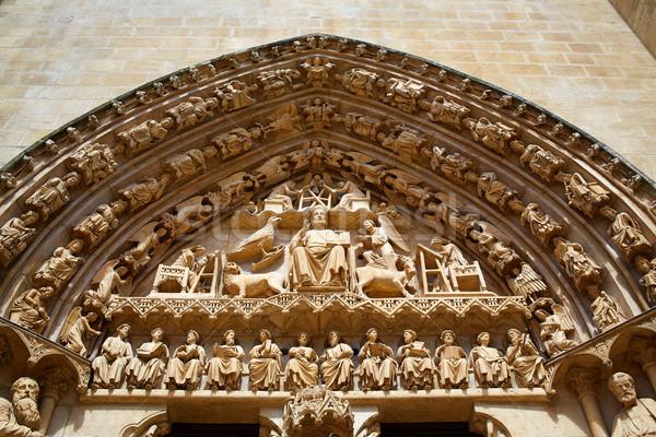 Catedral fachada maneira edifício cidade Foto stock © lunamarina