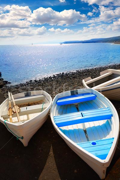 Taralejo beach Fuerteventura at Canary Islands Stock photo © lunamarina