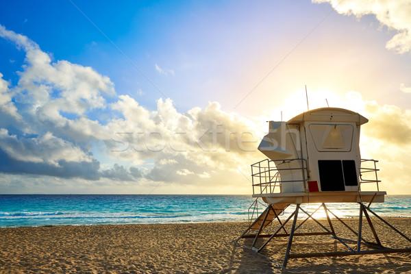 Fort lauderdale strand zonsopgang Florida ochtend USA Stockfoto © lunamarina