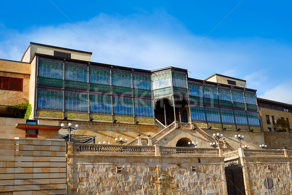 Salamanca Lis house modernism architecture Stock photo © lunamarina