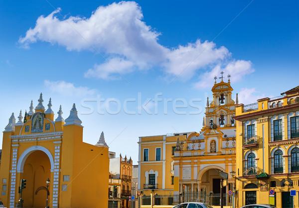 LA bazilika templom város fal utazás Stock fotó © lunamarina
