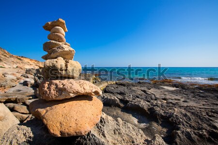 Desiderio pietre panorama Foto d'archivio © lunamarina