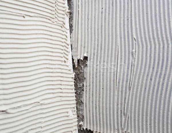 Photo stock: Construction · forme · grand · carrelage · Retour · côté