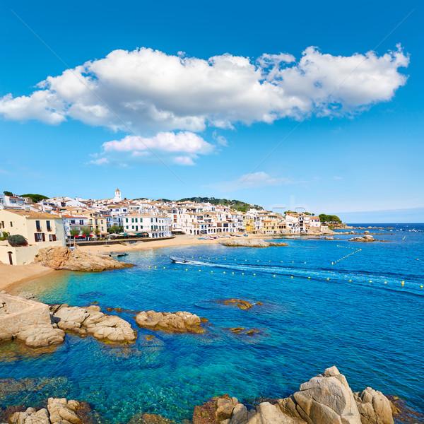 Calella de Parafrugell in Costa Brava of Girona Stock photo © lunamarina