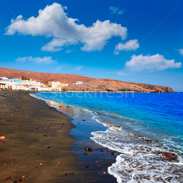 Taralejo beach Fuerteventura at Canary Islands Stock photo © lunamarina