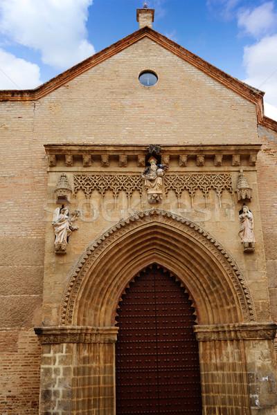 Stock photo: San Marcos church facade in Seville of Spain