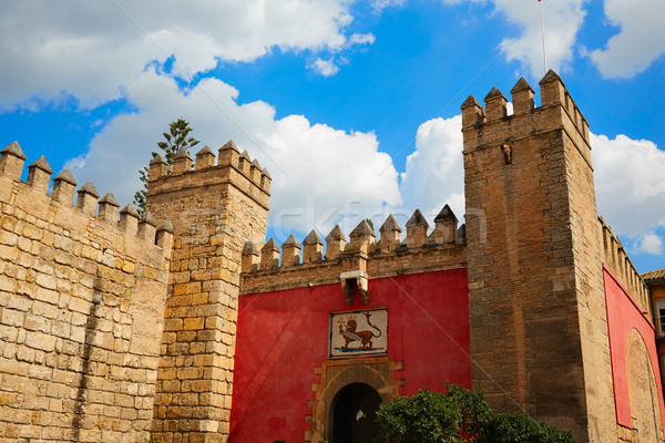 Seville Real Alcazar fortress Sevilla Spain Stock photo © lunamarina