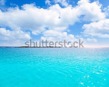 Grzech Karaibów fali turkus wody wysoki Zdjęcia stock © lunamarina