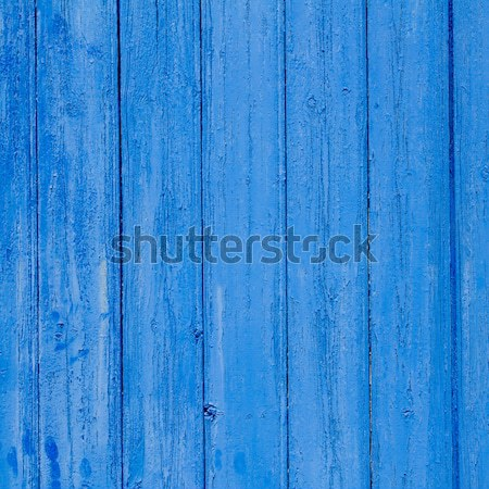 aged grunge weathered blue door wood texture Stock photo © lunamarina