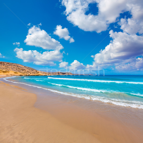 la carolina beach in Murcia  at Mediterranean sea  Stock photo © lunamarina