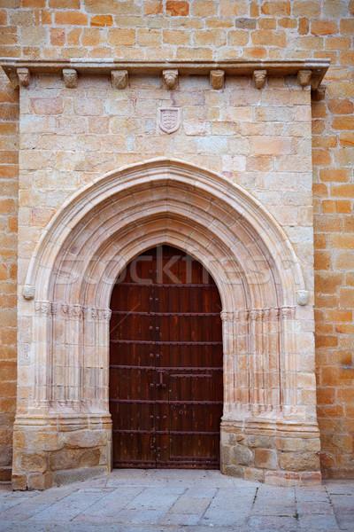 église Espagne bâtiment ville construction Photo stock © lunamarina