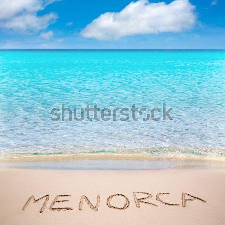 Pecado praia tropical turquesa caribbean água Foto stock © lunamarina
