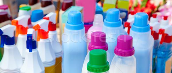Chemische producten schoonmaken huiselijk huis Stockfoto © lunamarina