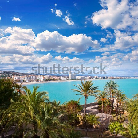 Stock photo: Beach Las Teresitas in Santa cruz de Tenerife north