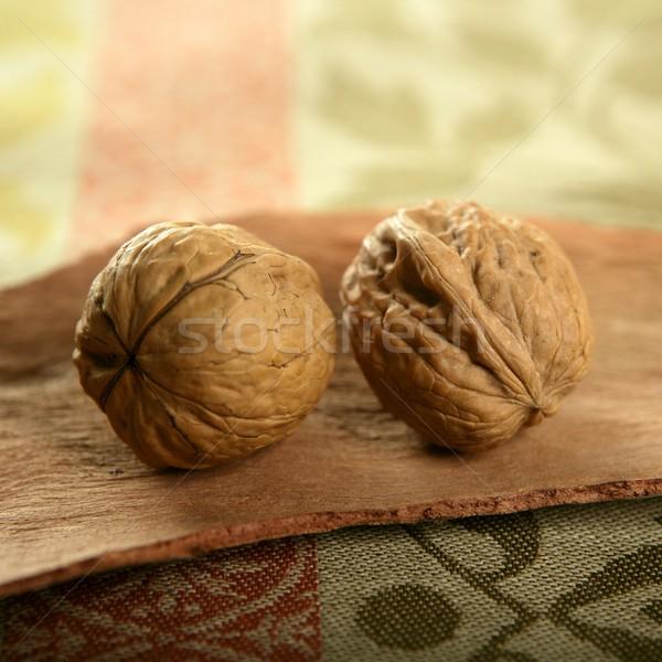 два скатерть древесины продовольствие фрукты Сток-фото © lunamarina