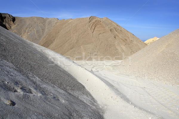 Foto stock: Colorido · construção · areia · variedade · céu · textura